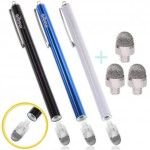 やっと見つけたASUSタブレット用のタッチペン>aibow 新開発 濃密導電ファイバー採用 ペン先交換式
