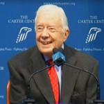 気になるニュース>カーター元米大統領、がんが脳に 「穏やかな気持ち」